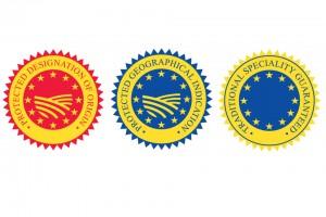 Cele trei etichete de protectia UE a produselor