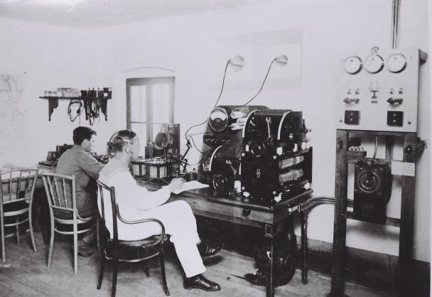 Camera de transmisiuni radio