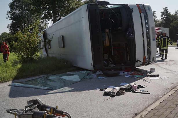 Accident Germania autocar