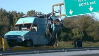 Accident Romani Italia Microbuz