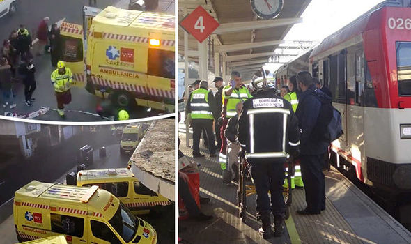 Accident Tren Madrid