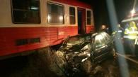 Accident tren Sandra