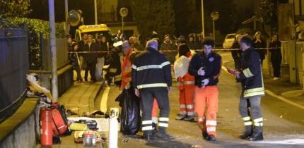 Arezzo roman accident Italia
