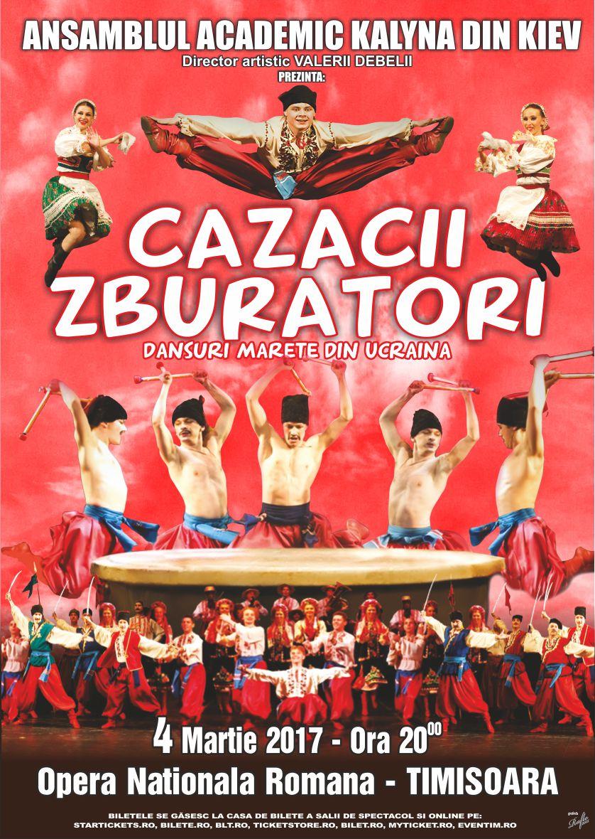 Cazacii zburatori TIMISOARA poster