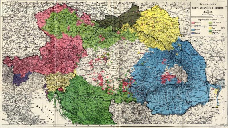 Harta Etnica a austroungariei
