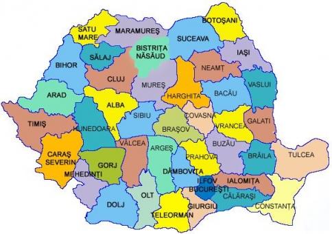 Harta Sărăciei și Bunăstării Din Romania Care Sunt Cele Mai