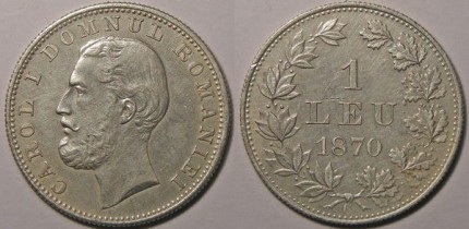 Leu Romanesc 1870