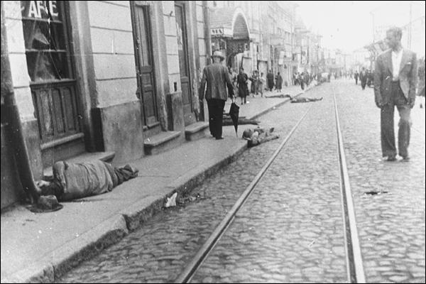 Rebeliunea legionara strada morti