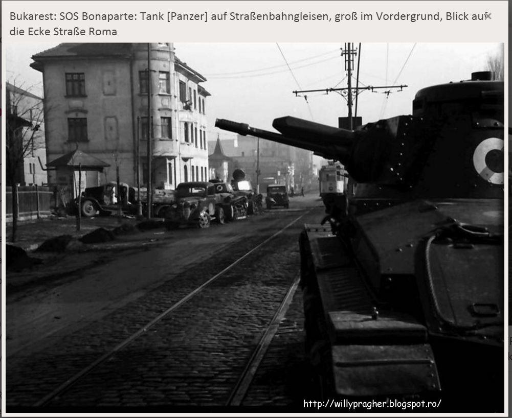 Rebeliunea legionara tancuri