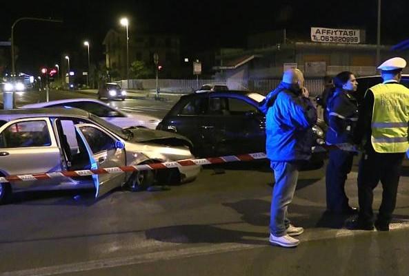 Roma accident tigani