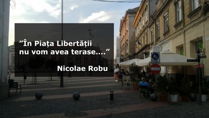 Terase Piata Libertatii