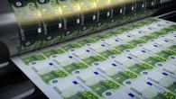 Printing hundred euro banknotes