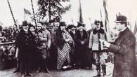 Unirea Declaraţia de la Alba Iulia, citită de Iuliu Hossu